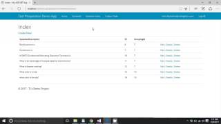 Custom Tests App in ASP.NET MVC 5 for Launchcode South Florida