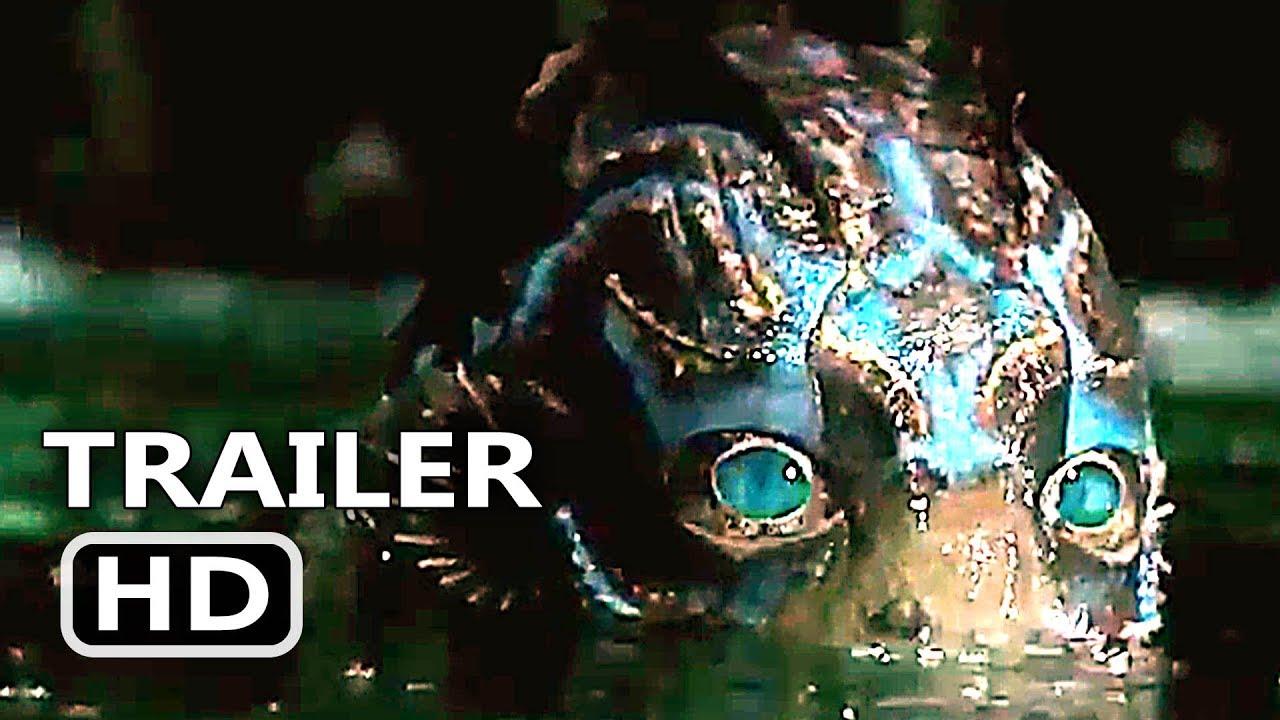 THE SHАPЕ ΟF WАTЕR Official Trailer (2017) Guillermo Del Toro, Michael Shannon Fantasy Movie HD