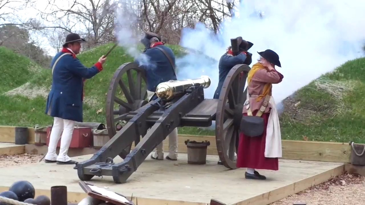 Revolutionary War Museum Yorktown Virginia USA Part  YouTube - War museums in usa