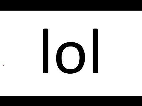 What Does 'lol' Stand For?