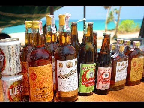 Цены на алкоголь в Тайланде