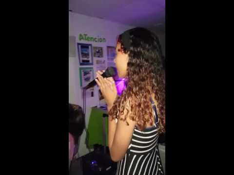 Thinking out loud at Karaoke by Carlyann