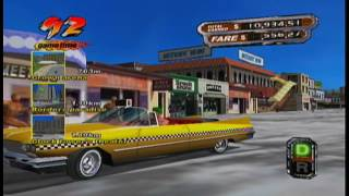 Crazy Taxi 3 High Holler [ARCADE MODE/WEST COAST] (XBOX CLASSIC) #111 LongPlay SD
