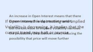 How to Use Option Open Interest and Implied Volatility to Find Trades