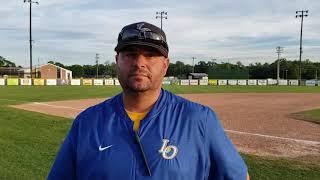 Live Oak High baseball coach Jesse Cassard