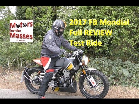 FB Mondial hps 125 FULL REVIEW