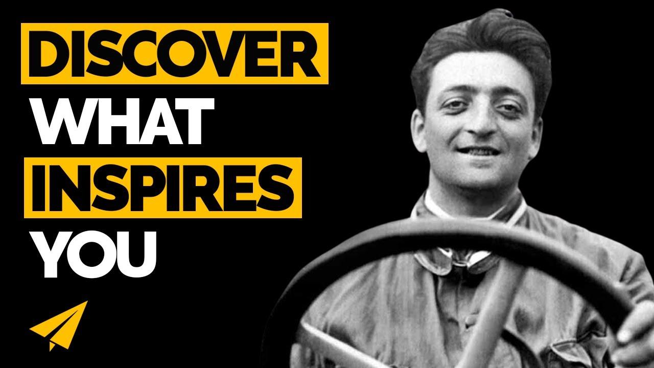 Find your INSPIRATION - Enzo Ferrari - #Entspresso - YouTube