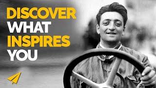 Find your INSPIRATION - Enzo Ferrari - #Entspresso