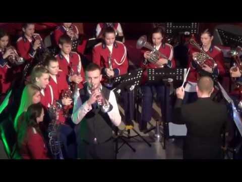 "Brilliant Fantasy by J.B.Arban /Tom Hutchinson & Brass Band ""Aukštyn"""