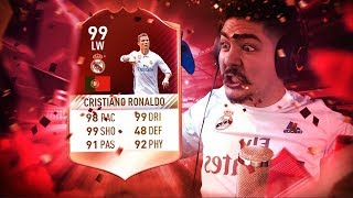 99 RED INFORM RONALDO IN A PACK!!! FIFA 17