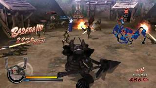 Sengoku Basara Samurai Heroes | Honda gameplay trailer (2010)