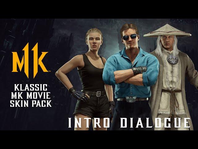 Mortal Kombat 11 Ultimate (PS5 4K 60fps) Klassic Movie Pack Intro Dialogue
