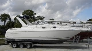 [unavailable] Used 2000 Monterey 296 Cabin Cruiser In Jensen Beach, Florida