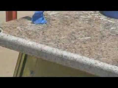 how to profile polish granite countertop diy