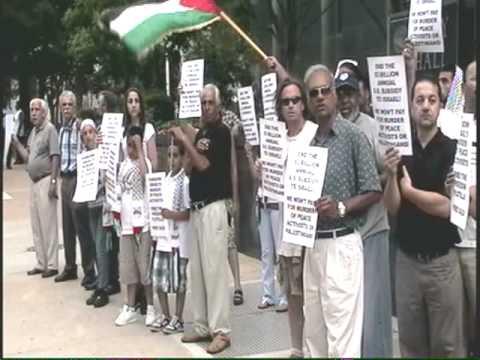 Richmond  Va. Protest of the Israeli attack of the Aid Flotilla