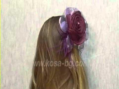Viva accessories: Flower Hair Clips