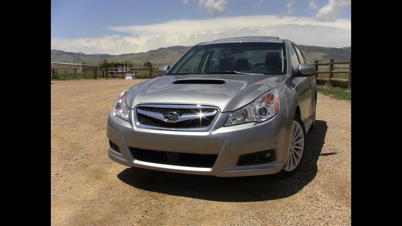 2011 subaru legacy 2.5gt first drive review - youtube