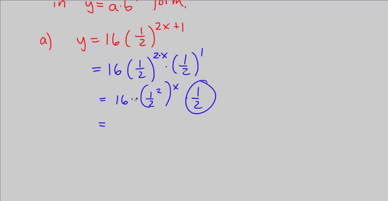 Cpm precalculus 3 114 rewrite each exponential into yabx form cpm precalculus 3 114 rewrite each exponential into yabx form falaconquin