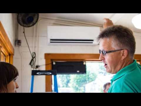 How To Install A Midea Ductless Mini Split In Minisplitwarehouse Youtube