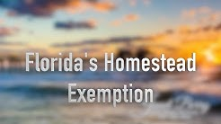 Florida Homestead Exemption Naples Florida Real Estate