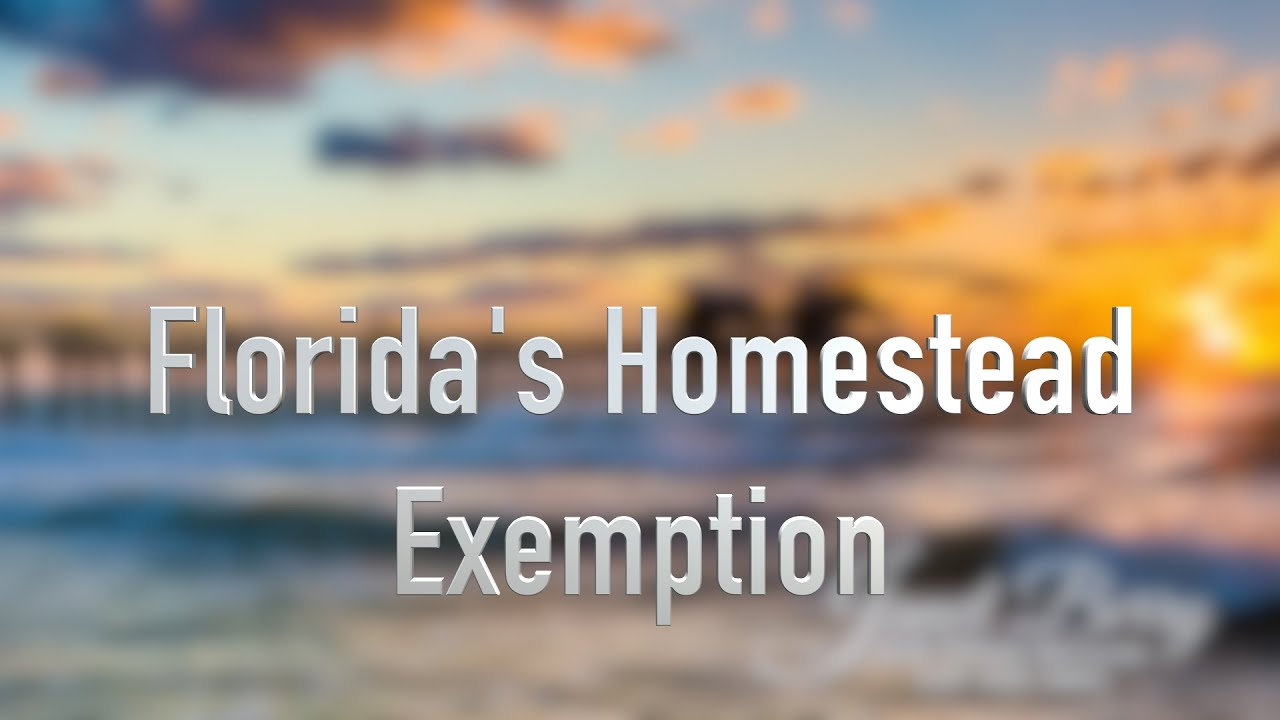 Florida Homestead Exemption Naples Florida Real Estate ...