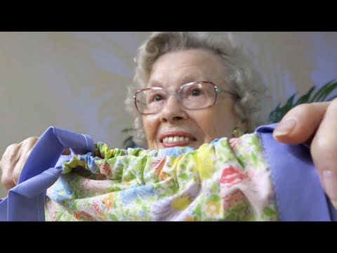 99-Year-Old Florida Woman Sews Dresses for Puerto Rico Orphans