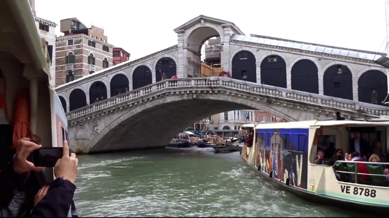 venedig canal grande italien youtube. Black Bedroom Furniture Sets. Home Design Ideas