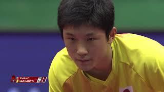 ジャパンOP 男子シングルス 決勝 張本智和vs張継科 第7ゲーム
