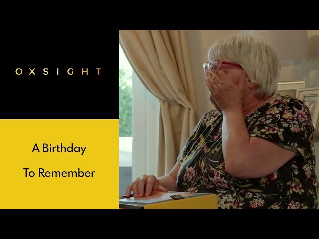 Daughter surprises mother with OXSIGHT on her birthday, Part 1