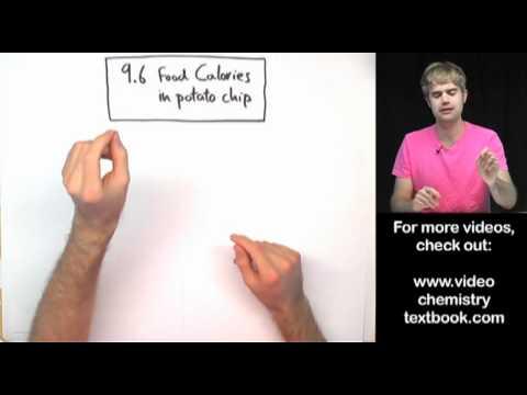 Food Calorimetry Lab: Calculations