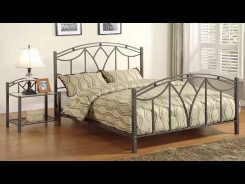 غرف نوم حديد مشغول Wrought iron bed rooms