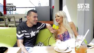 Българската порноактриса Адриана участва в тройка