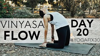 Vinyasa Flow to Forearm Balance (Pincha Mayurasana) Day 20 With Fightmaster Yoga