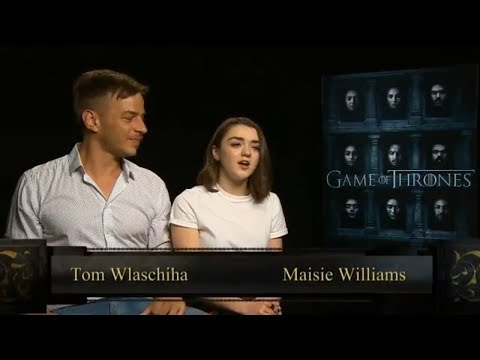 Game of Thrones: Maisie Williams and Tom Wlaschiha
