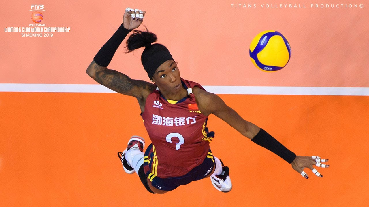 Destinee Hooker - Incredible Volleyball Spikes | Legend Volleyball | WCWC 2019