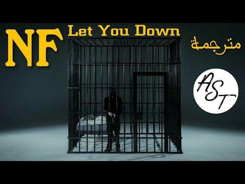 NF - Let You Down | Lyrics Video | مترجمة
