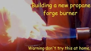 Building A New Forge Burner For An Old Forge Restoration.