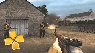 Brothers in Arms : D-Day PPSSPP Gameplay Full HD / 60FPS