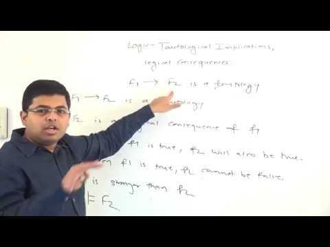 GATE - Maths - Propositional Logic - Tautological Implications And Logical Consequences