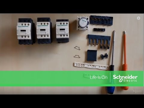 Star Delta Motor Starters Schneider Electric Youtube