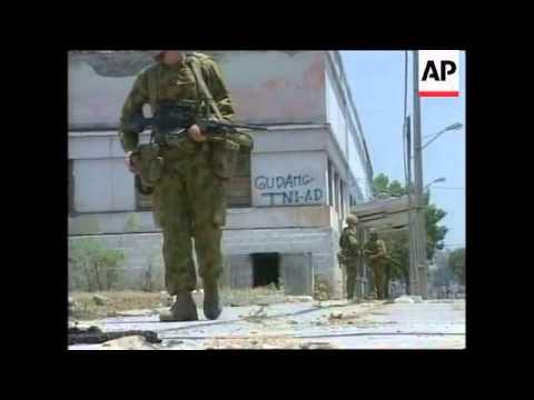 EAST TIMOR: DILI: PEACEKEEPING FORCE