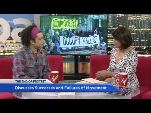 Occupy Wall Street co founder Micah White chats with Sonia Deol about THE END OF PROTEST