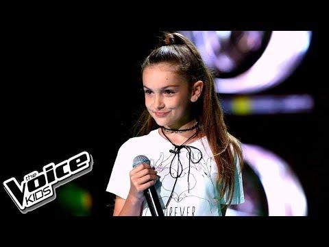 """Olivia Klinke – """"Cicho"""" – Przesłuchania w ciemno – The Voice Kids Poland"""