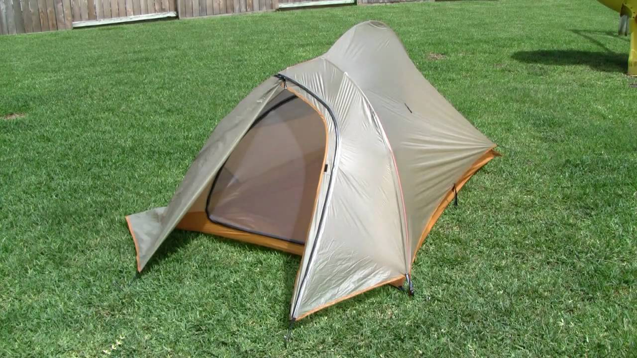 Ultralight Backpacking Tents - YouTube