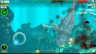Hungry Shark большой папочка (дунклеостей)(Я с вами буду играть в игру Hungry Shark., 2014-11-21T18:53:49.000Z)