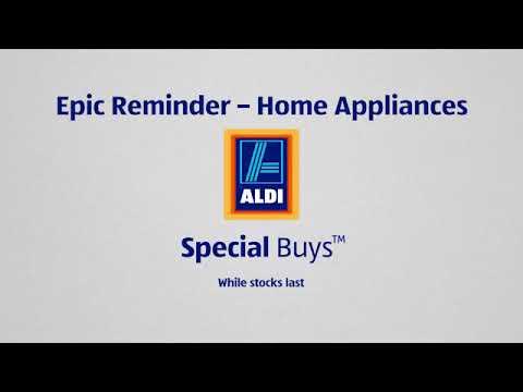 "ALDI Special Buys ""Epic Reminders"" Radio Campaign"