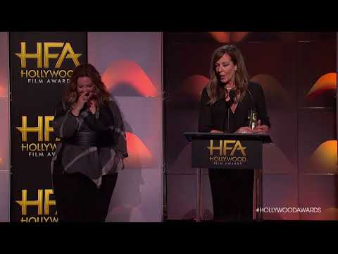 Allison Janney Acceptance Speech for Hollywood Supporting Actress  HFA 2017