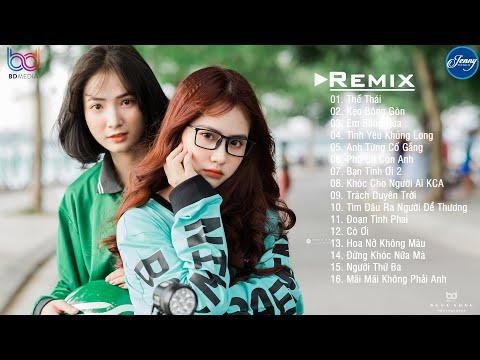 "NHẠC TRẺ REMIX 2020 HAY NHẤT HIỆN NAY - EDM Tik Tok JENNY REMIX - Lk Nhạc Trẻ Remix 2020 ""Cực Phiêu"