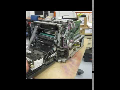 Hp CLJ CP3525 CP3530 59.F0 disassembly