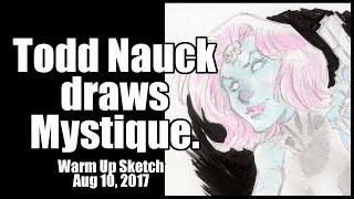 Todd Nauck draws Mystique